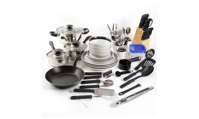 Gibson Home Essential Total Kitchen 83-Piece Combo Set | Groupon