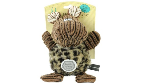 "Hyper Pet Bumpy Palz Hippo Dog Toy Large Brown 7.5"" x 5"" x 5"" 6a20e8ea-4a9b-4cfa-9831-f9cd862f09f7"