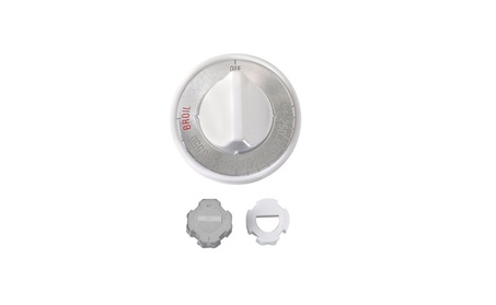Lux CPR-406 Replacement Gas Oven Knob, White photo