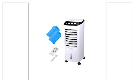 Portable Evaporative AirCooler Fan Indoor Cooling Humidifier w/ Remote 89d2c4be-549e-46aa-b044-9c2340a0ba43