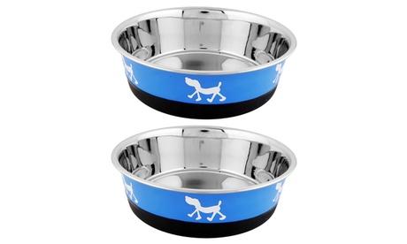 Designer Fusion Pet Bowl (2-Pack) ec1fb00d-63a0-4b15-a174-878d300e071f
