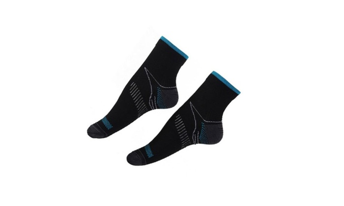 Cut Running Gym Compression Foot Socks for Yoga, Gym, Travel, Cycling