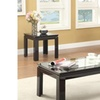 Furniture of America Deon Transitional 3-Piece Table Set