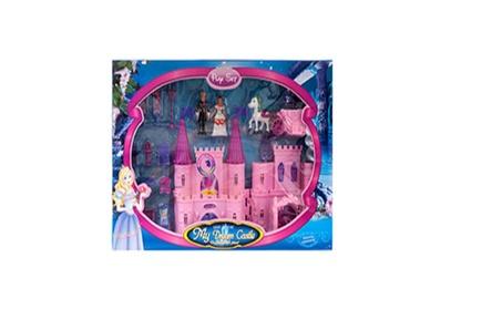 Toy Castle Play Set W/ Dolls 2 Asst fe52f556-4bf4-42f8-8c8b-61564cd68f65