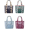 AK Collection Patterned Shoulder Beach Tote Bag
