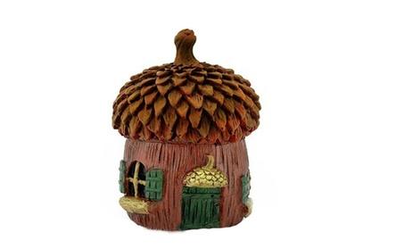 Decor Bitty Acorn Fairy House Micro Dollhouse Fairy Garden Outdoor 937fd28a-9bc4-49ce-b29f-f9b5c503e65a