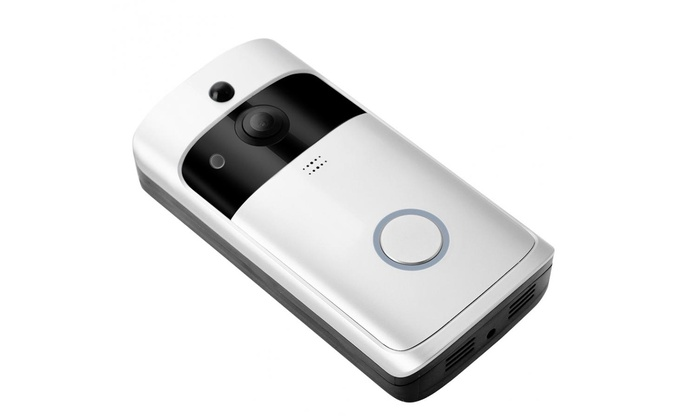 Up To 73% Off on Wireless Video Doorbell HD Wi... | Groupon ... Doorbell For Mobile Home on home safe, home bathroom, home computer, home mailbox, home pain, home security, home lock, home flooring, home tree, home chimney, home fire, home stove, home kitchen, home toilet, home shower, home lights, home ladder, home driveway, home refrigerator,