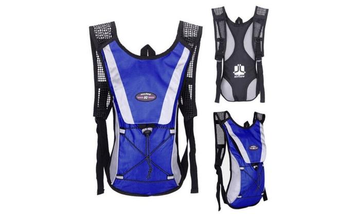 8c963f0300 Hydration Pack + 2L Water Bladder Bag Camelbak Backpack Hiking Camping