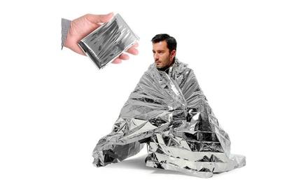 SwissTek Emergency Thermal Blanket (10-Pack)