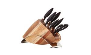 Savora German Steel Knife Block Set (7-Piece)