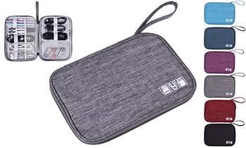 Electronic Organizer Travel Cable Organizer Bag for Hard Drives, Cables, Charger