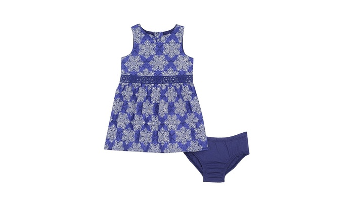 199689949 Up To 36% Off on Nautica Baby Girls' Poplin Ba... | Groupon Goods