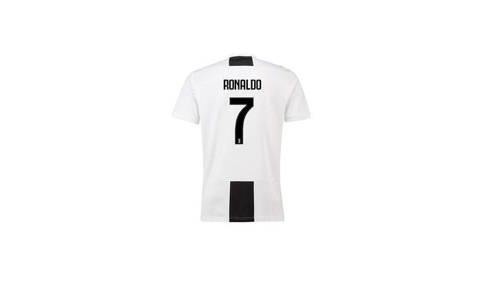discount sale 25e35 37a30 MBAP7CRS 2018-2019#7 C Ronaldo Home Mens Soccer Jersey Color White