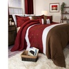 Lavish Home 7 Piece Embroidered Comforter Set