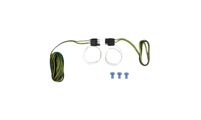 Hopkins Mfg Corp 48245 4 Wire Flat Trailer End Y-Harness, 20 ft. on
