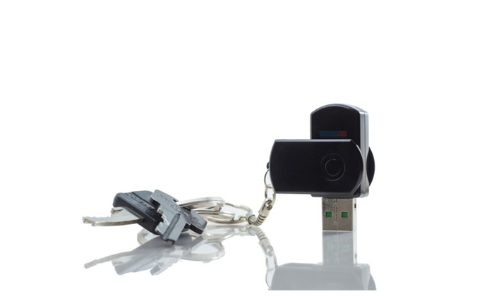 Portable Quick-Flip Lid Mini Spy Camera Thumb Drive Disguised