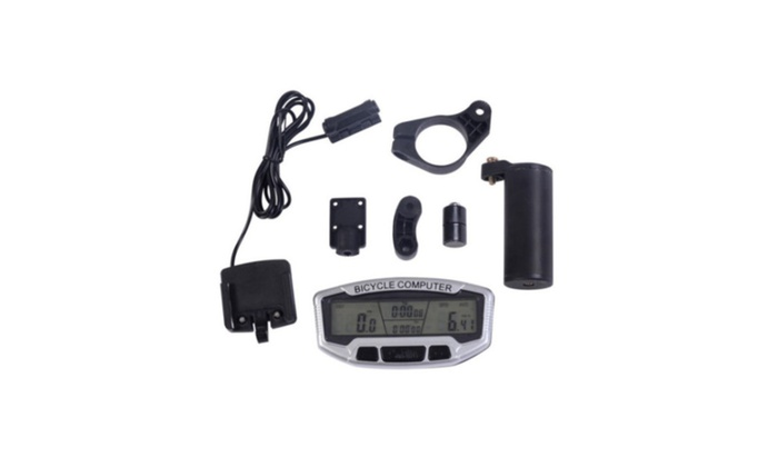 Dcolor LCD Bicycle Bike Cycling Computer Odometer Speedometer