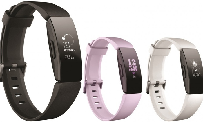Fitbit Inspire HR Fitness Tracker with Heart Rate | Groupon