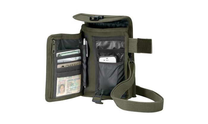 Canvas Travel Portfolio Bag