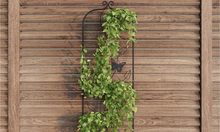 Garden Trellis Decorative Metal Panel For Climbing Plants