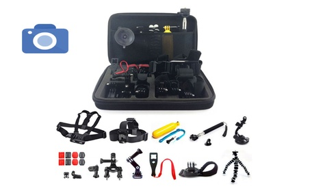 26in1 Head Chest Mount Monopod Accessories Kit For GoPro Hero 10661be1-39b0-4b28-b39f-7f836fdbab72
