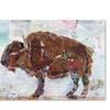 Kellie Day 'El Buffalo Brown Crop' Canvas Art