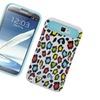 Insten Two-tone/nightglow PC Case For Samsung Galaxy Note II Leopard