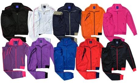 Women's 2-piece Sunshine Classic Jogger Track Jacket & Track pants Set