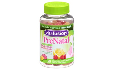 VitaFusion Prenatal Gummy Vitamins - 90ct