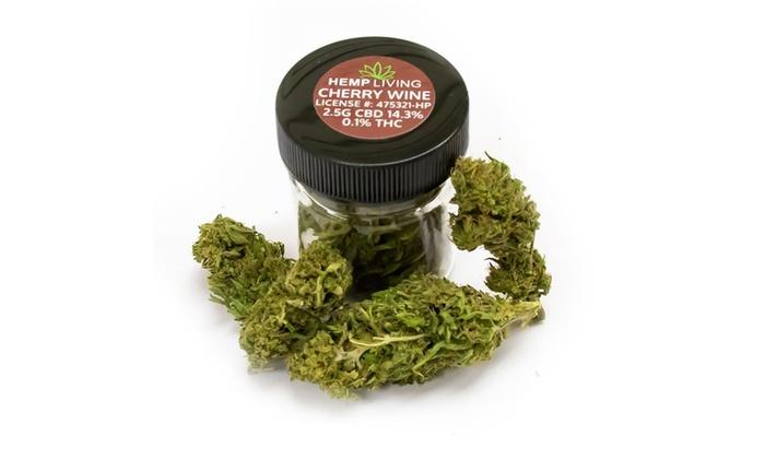 Up To 10% Off on Hemp Living CBD Buds - Cherry    | Groupon