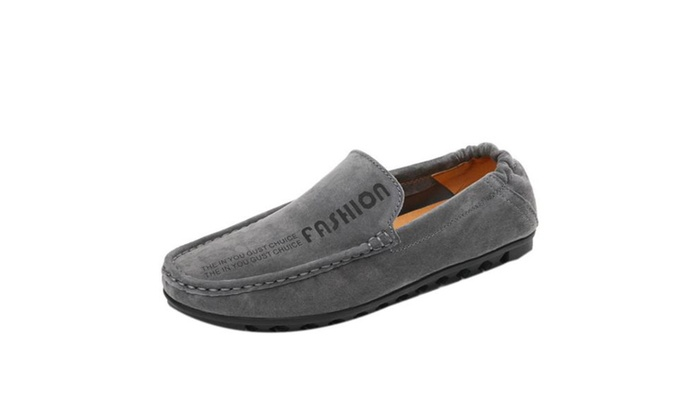Men's Pu Leisure time Round Loafers Shoes
