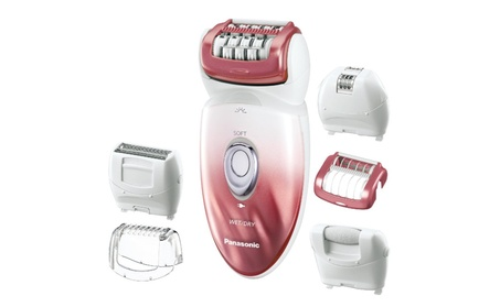 ES-ED90-P Wet/Dry Epilator and Shaver, with Six Attachments c500b7ad-4993-40e9-b241-030b5fe807d7