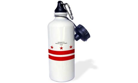 Water Bottle - Washington DC Flag - 21oz photo