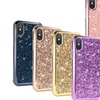 2-in-1 Glitter Case for Apple iPhone 7/8, 7/8 Plus, and X