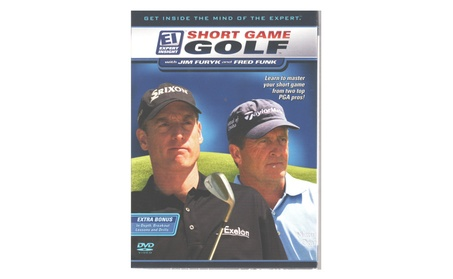 Short Game Golf with Jim Furyk & Fred Funk Instructional DVD 41350085-ed15-4c00-bb5e-5d2d9db0698a