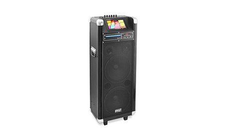 PylePro PKRK212 1000 Watt Karaoke Vibe Bluetooth Multimedia PA System d3d83b6f-87fd-4090-b1ff-c29cad2d1e28