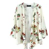 Women's Ladies Vintage Cardigan Chiffon Loose Kimono Shawl