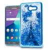 XL Samsung J7(2017) J727 Chrome Glitter Case Cover