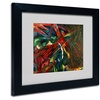 Franz Marc 'Fate of the Animals 1913' Matted Black Framed Art