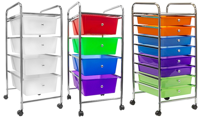 Sorbus Drawer Organizer Rolling Cart ...