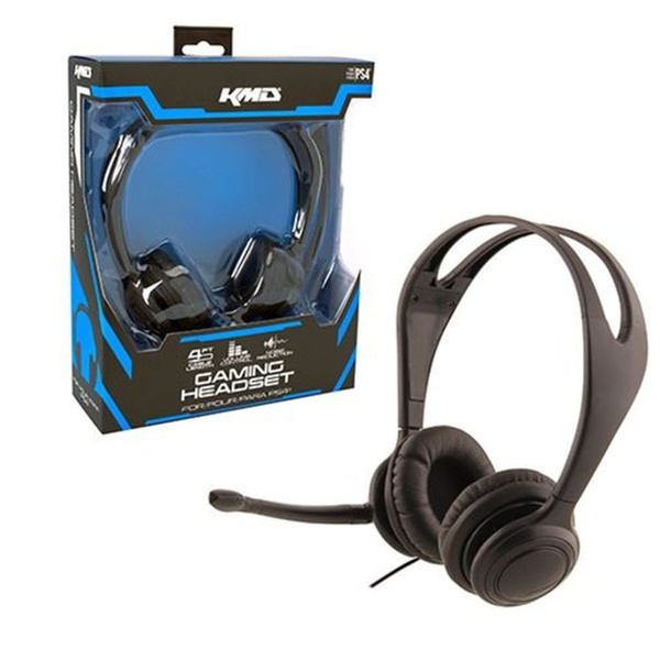 8c9577653bf KMD Live Chat Headset With microphone For Sony PS4 Black Small | Groupon