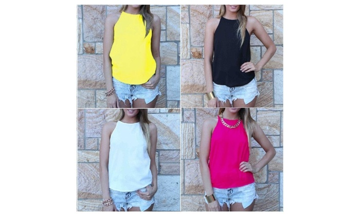 Summer Loose Casual Sleeveless Vest Shirt