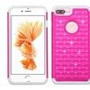 Crystal Hybrid Rugged Shockproof Bling Diamond Back Case for iPhone 7 Plus