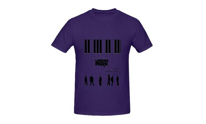 HIDALGO's store: Linkin Park Piano Instrumentals Rock Men Digital Shirt