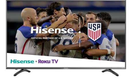 Hisense 4K Ultra HD HDR Roku Smart TV with USB & 3 x HDMI