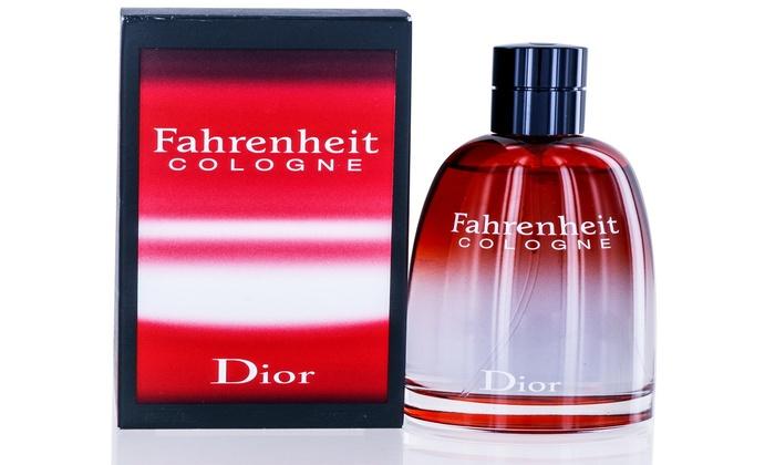 Fahrenheit for Men by Christian Dior Cologne Spray 4 2 Oz