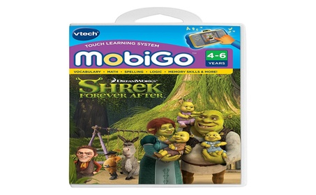 Vtech MobiGo Touch Learning System Game - Shrek 4 5018af1b-9ef2-4acf-8df6-d0d96f04135c