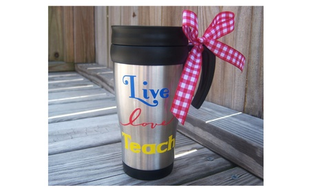 Teacher Travel Mug 1b050e83-c65b-47ea-93bf-14c6f6f6850b