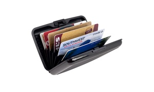 Aluminum Credit Card Wallet - RFID Blocking Case
