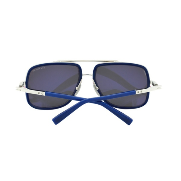 97392b90c805 New Dita Mach One DRX 2030 Blue Mirrored Titanium Aviator Sunglasses ...